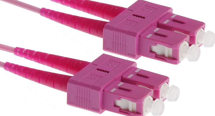 Multimodowe włókno światłowodowe OM4